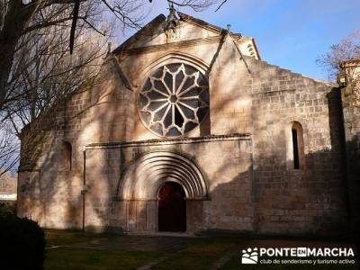 Santa María la Real de Sacramenia - Coto de San Bernardo - viaje cultural españa; rutas senderismo